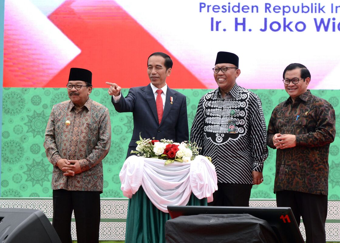 Presiden Jokowi : di Unisma Saya Merasakan Kebesaran Islam Nusantara