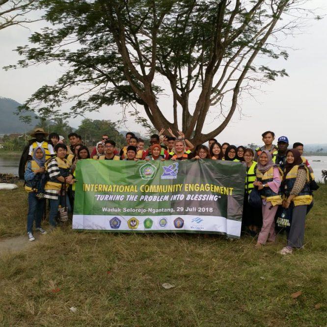 Unisma Kenalkan Limbah Lingkungan Hingga Cara Pengolahannya Ke Mahasiswa Asing
