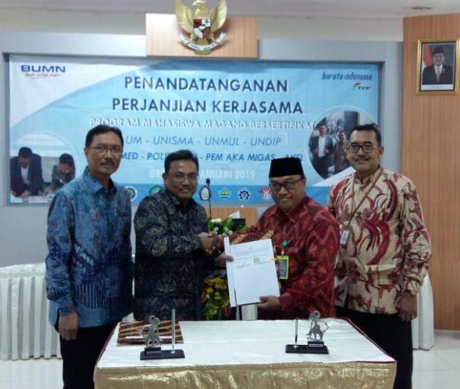 PT. Barata Indonesia Jadi Tempat Magang Mahasiswa Unisma