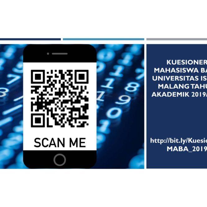 PENGISIAN KUESIONER MAHASISWA BARU T.A. 2019/2020