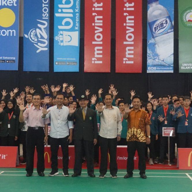 Unisma Tuan Rumah Liga Mahasiswa Badminton Jawa Timur