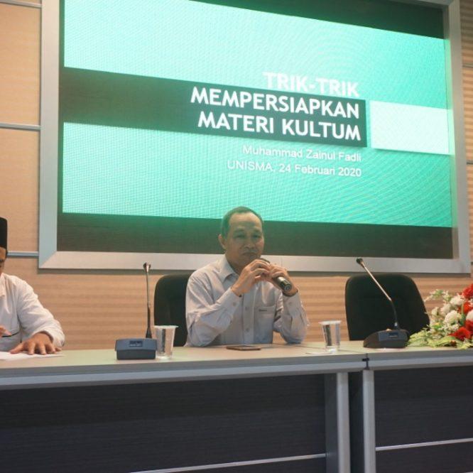 Workshop Strategi Penceramah Milenial di Era 4.0