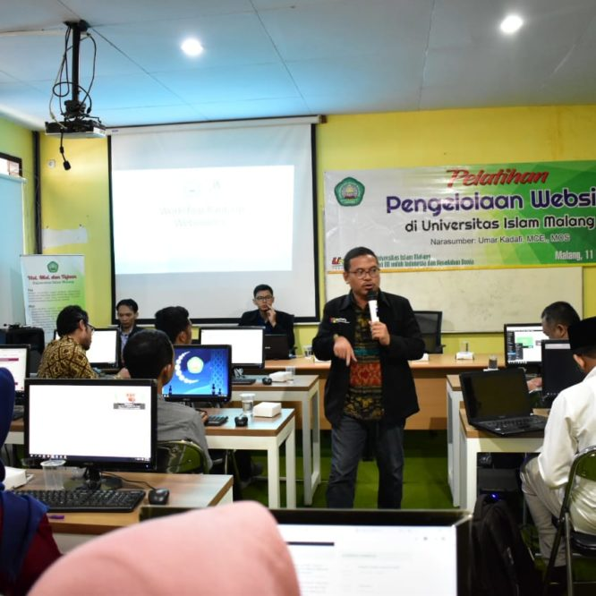 REKTOR UNISMA : WEBSITE ADALAH GERBANG KAMPUS