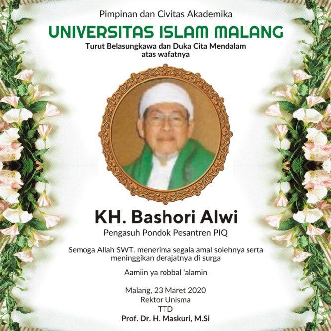 SELAMAT JALAN KH. BASHORI ALWI