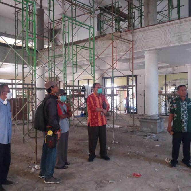 Rektor Unisma Malang Tinjau Pembangunan