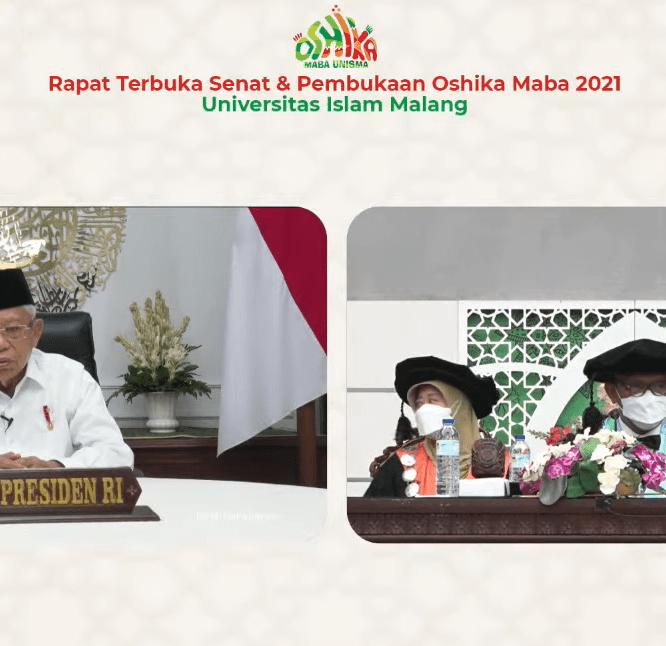 Universitas Islam Malang menyelenggarakan Oshika Maba 2021